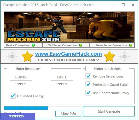 Escape Mission 2016 Hack