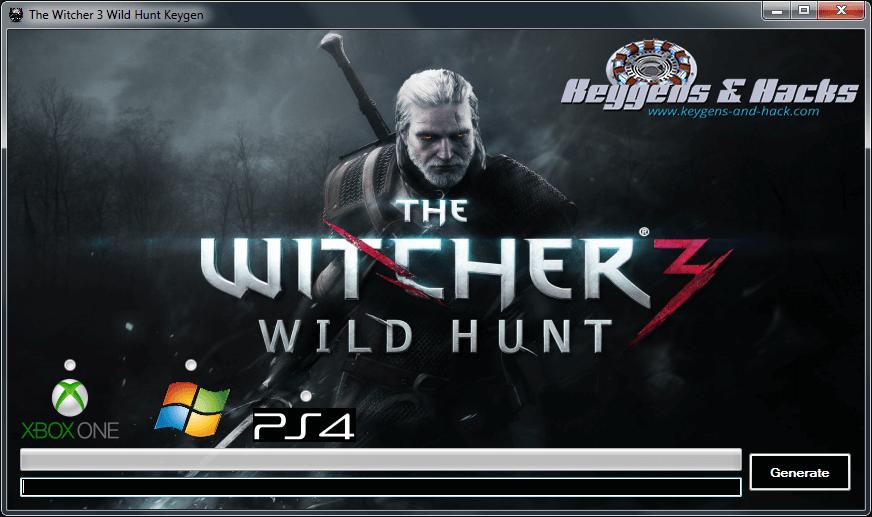 Witcher 3 Wild Hunt Keygen