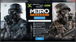 Metro Redux KeyGen Hack Tool