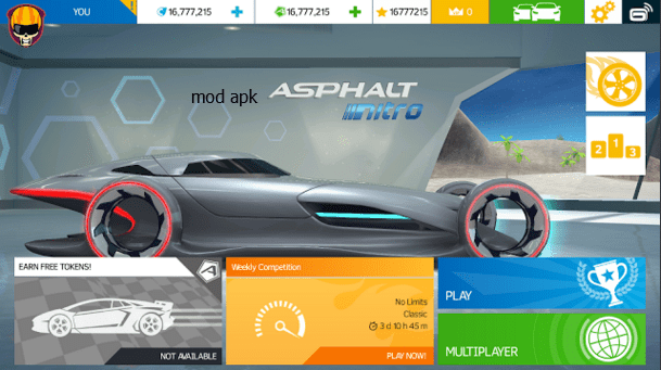 Asphalt Nitro Hack Tool Boundless Credit  Free up All Automobiles  Discharge All Tracks