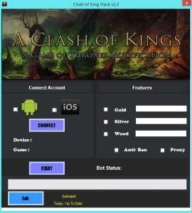 Clash of Kings Hack boundless cash, credit and gold