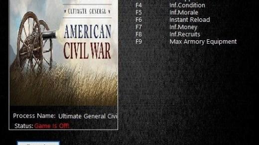 ULTIMATE GENERAL CIVIL WAR – TRAINER
