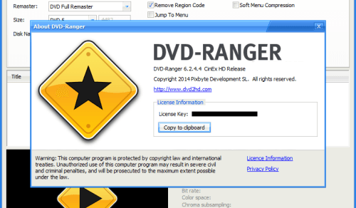 DVD-Ranger 6.2.4.4 CinEx HD Crack & Serial