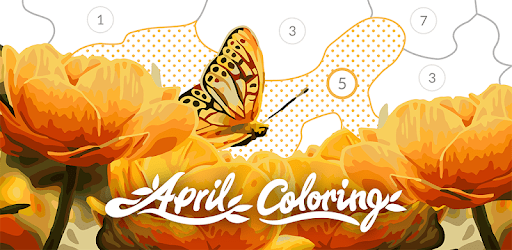 April Coloring: Paint by Numbers to Calm and Relax