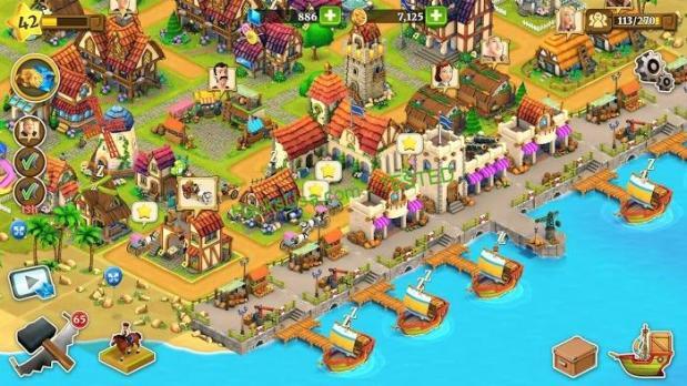Imagini pentru MOD All currencies (Increase when spend) Village City