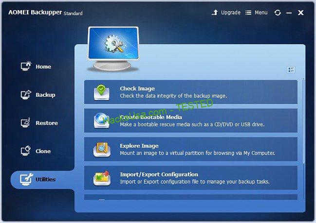 Aomei backupper Windows 10