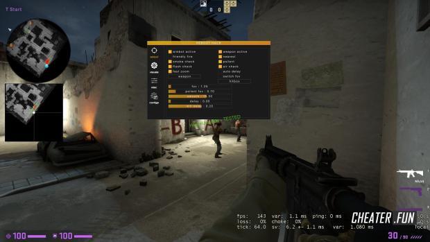 Counter-Strike: GO REBOOT HACK - Aimbot, Visuals, Mics, Configs