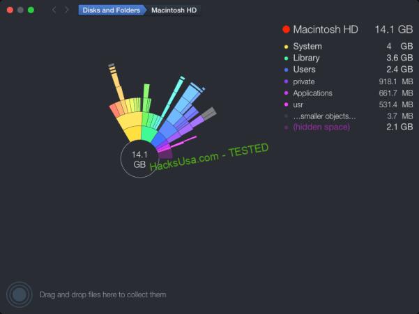 DaisyDisk 4.9 CR2 MAC