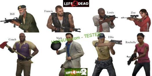 Left 4 Dead 2 apk mod character