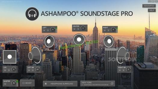 Ashampoo Soundstage Pro Crack Free v1.0
