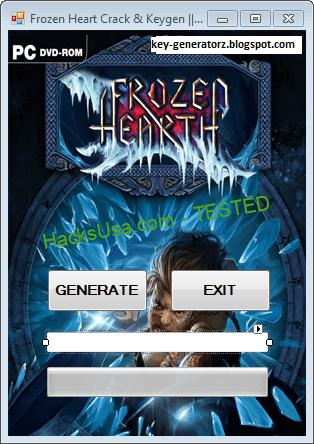 Frozen Hearth Keygen CD Key Generator