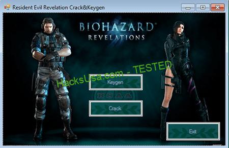 Resident Evil Revelations Keygen