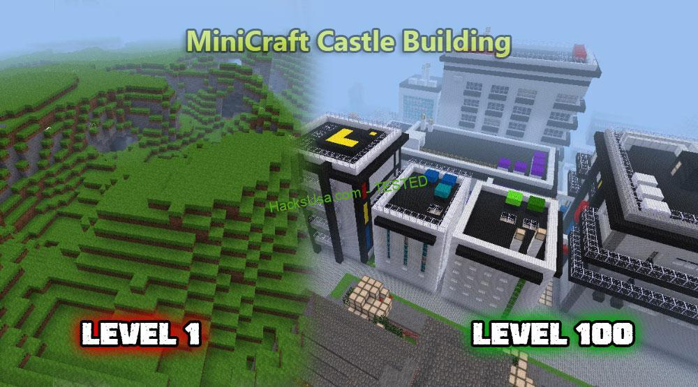 Minicraft 2 hack get unlimited coins, free resources cheats