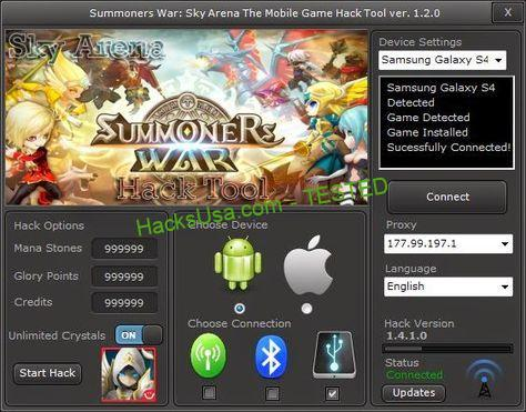 Summoners War Sky Arena Hack Mana Stones – Adding Glory Points