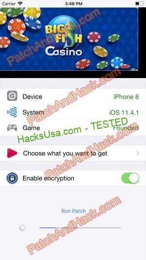 Big Fish Casino Hack - patch and cheats for Money and other stuff on Anroid and iOS