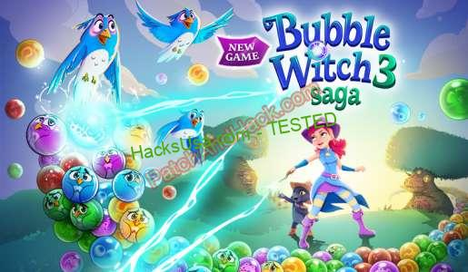 Bubble Witch 3 Saga Patch and Cheats lives, money