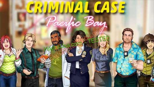 Criminal Case: Pacific Bay Patch and Cheats gold, energy