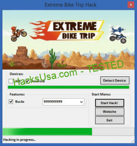Extreme Bike Trip Hack