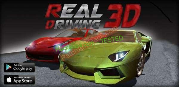 Real Driving 3D Patch and Cheats money