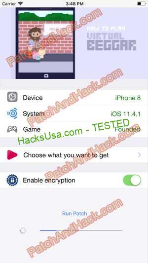 Virtual Beggar Hack - patch and cheats for Money and other stuff on Anroid and iOS