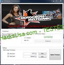 Motocross Meltdown Hack Gold Add Unlimited Money