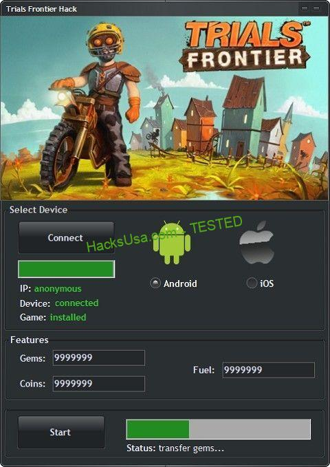 Guide] Trials Frontier Hack - Unlimited Coins, Gems and Fuel for ...
