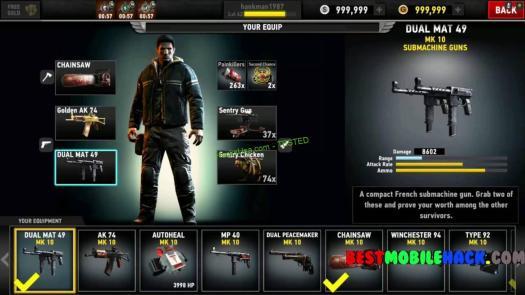 Dead Trigger 2 Hack cash Unlimited gold 2