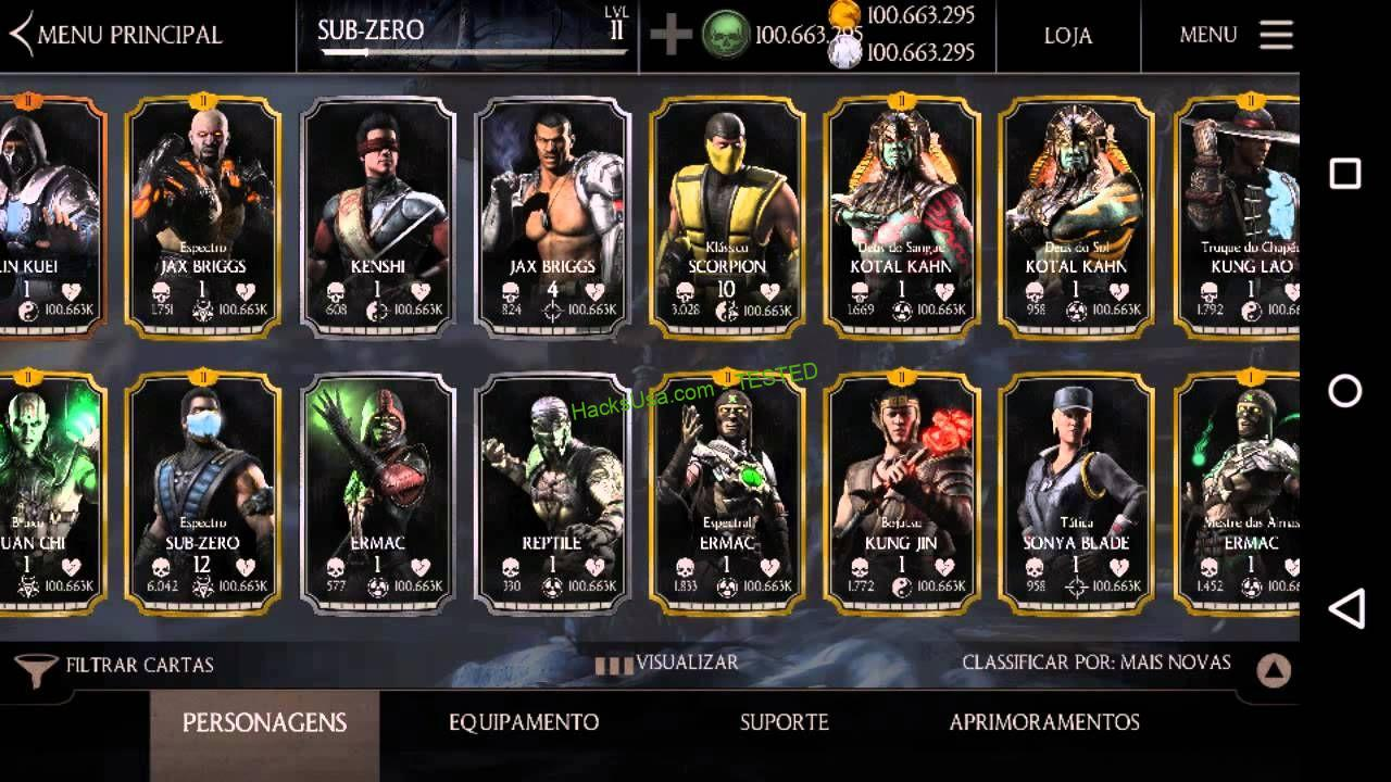 Mortal Kombat X Hack unlimited Koins, Alliance points and Souls feature