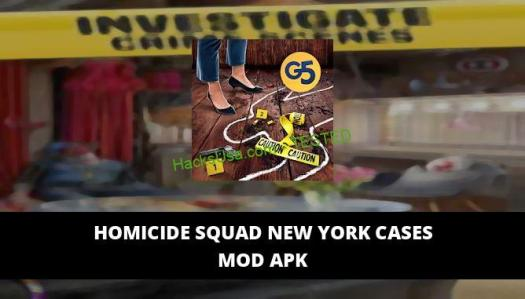 Homicide Squad New York Cases Featured Cover