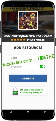 Homicide Squad New York Cases MOD APK Unlimited Cash Crystals