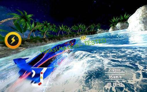 Driver SpeedBoat Paradise Hack generates you unlimited Gold and stones
