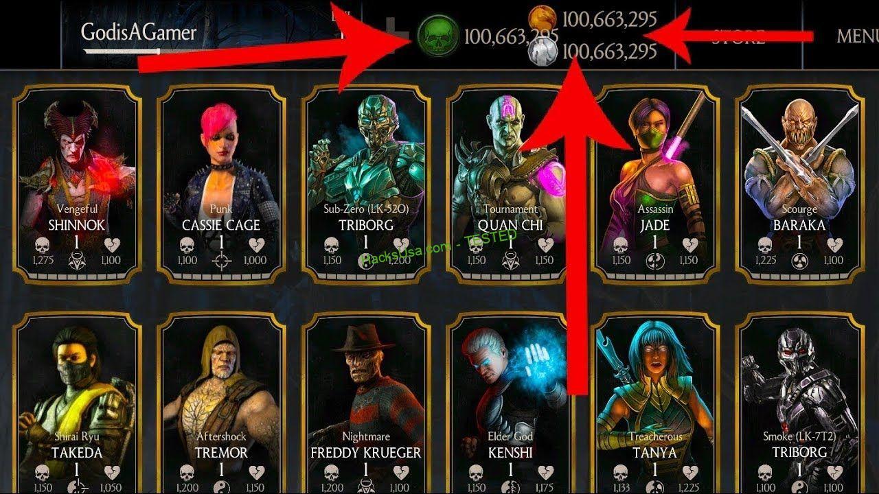 MORTAL KOMBAT X HACK Unlimited Koins Unlimited Souls