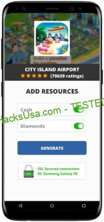 City Island Airport MOD APK Unlimited Cash Diamonds