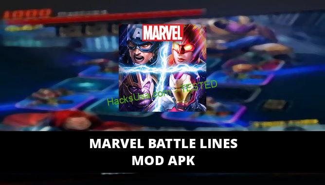 MARVEL Battle Lines Featured Cover
