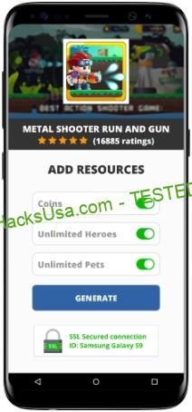 Metal Shooter Run And Gun MOD APK Unlimited Coins Heroes Pets