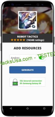 Robot Tactics MOD APK Unlimited Amber