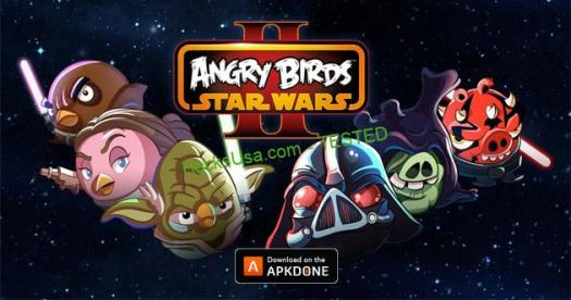 Angry Birds Star Wars 2 MOD Unlimited Money