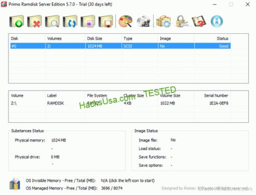 Primo Ramdisk Server Edition 6.3.1 Crack + Serial Number