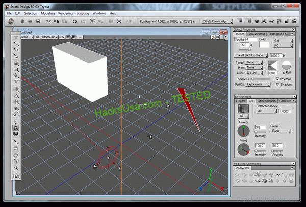 Strata Design 3D CX 7.6 Crack + License Key