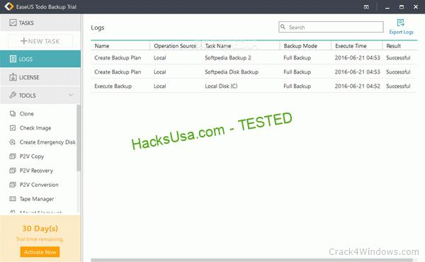 EaseUS Todo Backup Server 13.2 Crack With Serial Key