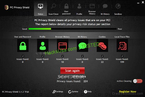 PC Privacy Shield 4.5.3 Crack Plus Activator