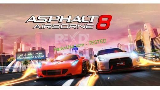 Asphalt 8 Airborne 5.5.0l Apk + Mega Mod for Android