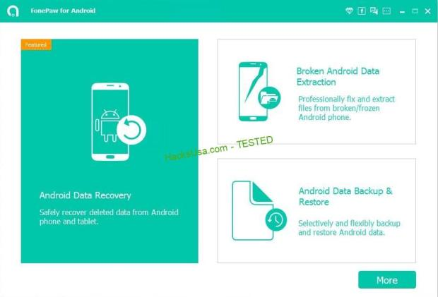 FonePaw Android Data Recovery Crack 2.9