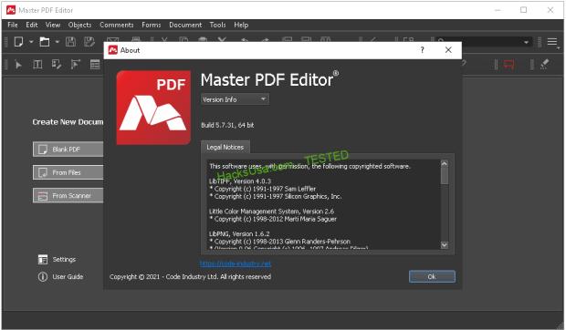 Master PDF Editor v5 7 31 (x86/x64) Multilingual Portable
