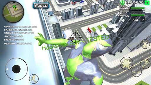 Rope Frog Ninja Hero Mod Apk 1.5.5 (Money) Android