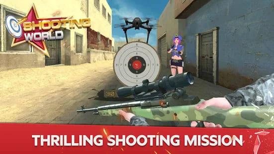Shooting World Gun Fire Mod Apk