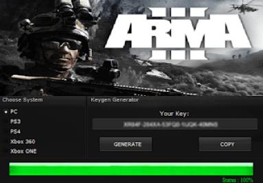 ARMA III KEY GENERATOR KEYGEN FOR FULL GAME + CRACK