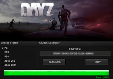DAYZ KEY GENERATOR KEYGEN FOR FULL GAME + CRACK
