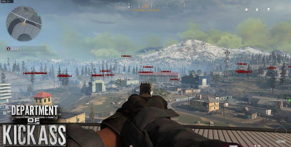 Call of Duty Modern Warfare Hacks   Warzone Cheats   Aimbot COD 2021