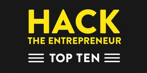 Hack the Entrepreneur Top Ten